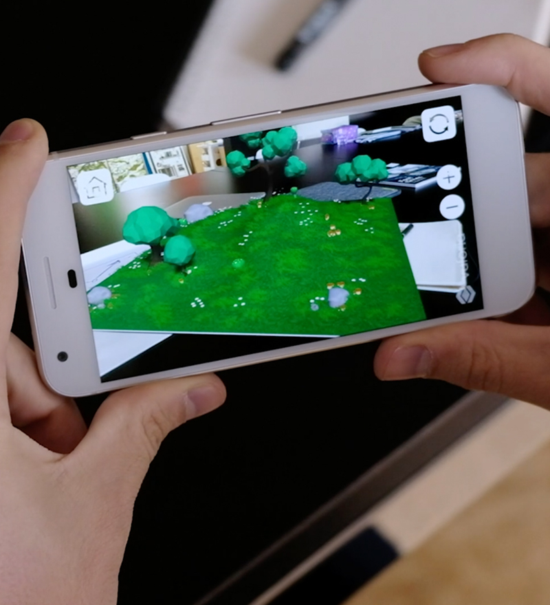 Collect, customise, and explore the new AR world of Nurchums… creating physical product demand through AR gamification.